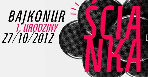 Ścianka wystąpi w Łodzi 27.10.2012, Klub Bajkonur