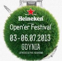 Vienio na Open'er Festival, 03.07.2013