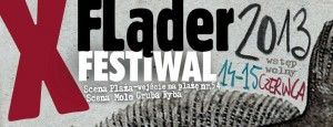 Ścianka na X edycji Fląder Festiwalu 15.06.2013