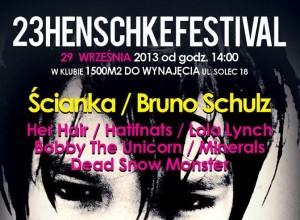 Ścianka na 23 Henschke Festival 29.09.2013
